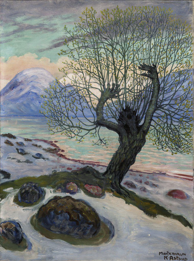 Morning in March. by Nikolai Astrup. Picture: Dulwich Picture Gallery
