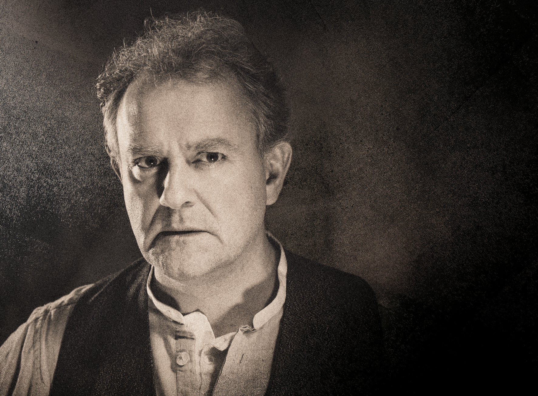 Hugh Bonneville as Dr Stockmann, the leading role in An Enemy Of The People. Photo: Hugo Glendinning