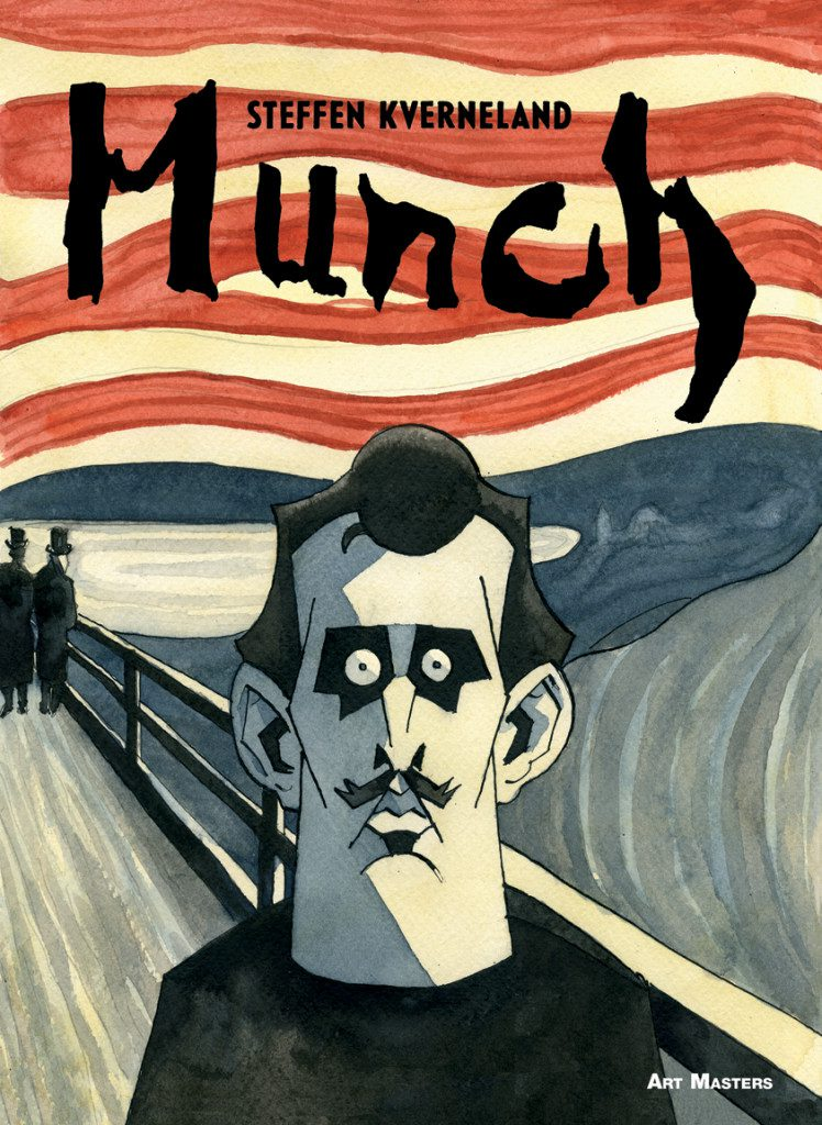 "From ""Munch"" by Steffen Kverneland. Photo: SelfMadeHero publishing."