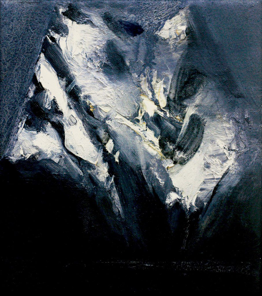 Mountain Study by Ørnulf Odahl. Photo: Purdy Hicks Gallery