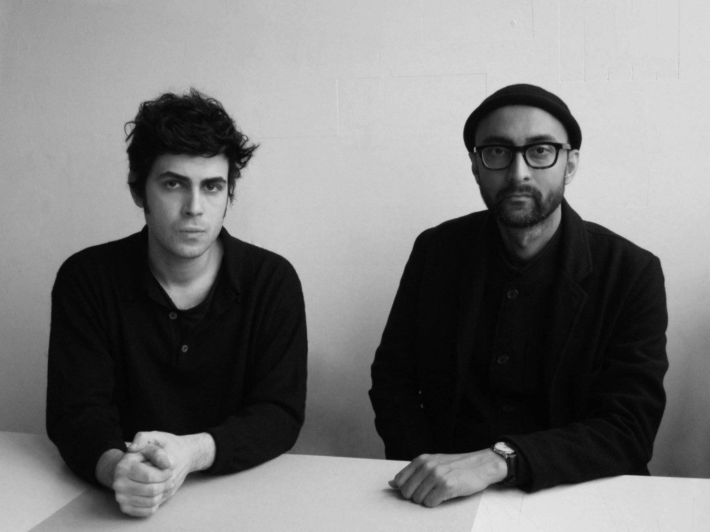Dámaso Randulfe, architect, writer and designer, and Nabil Ahmed, artist, writer and researcher. Both teatches at the Cass Faculty of Art, Architecture and Design. Photo: Oslo Architecture Triennale.