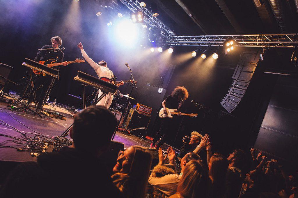 Lovespeake live. Photo: Lovespeake