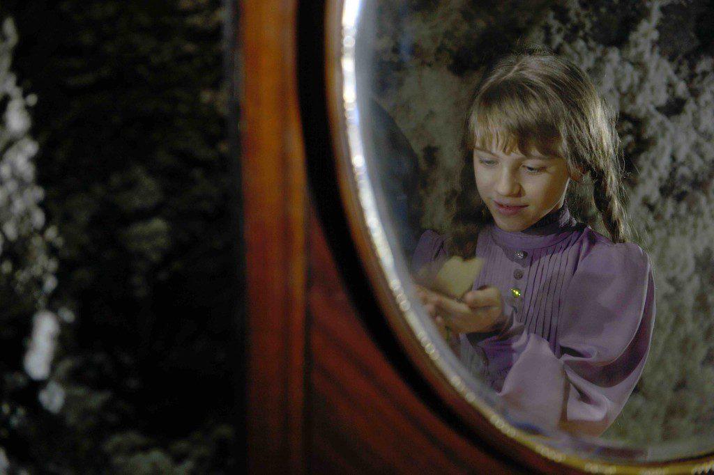 Octavia Selena Alexandre in the role as the girl Vilde. Photo: SALT