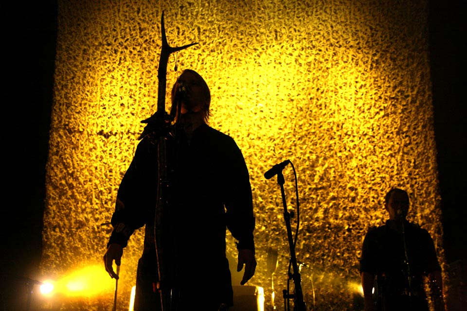 Wardruna performing at the Eurosonic Festival in 2010. Photo: Wardruna