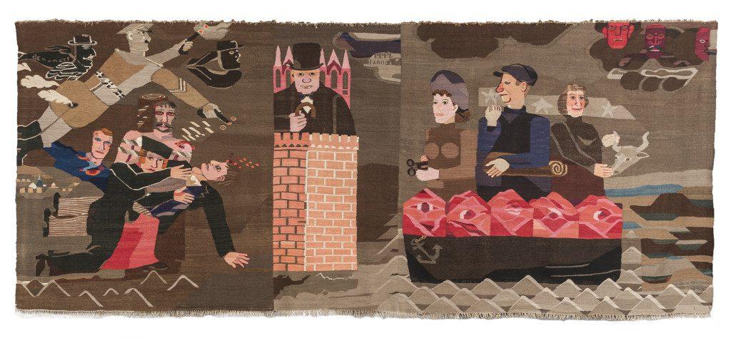 Hannah Ryggen, 6th Oktober, 1942 (1943), Tapestry