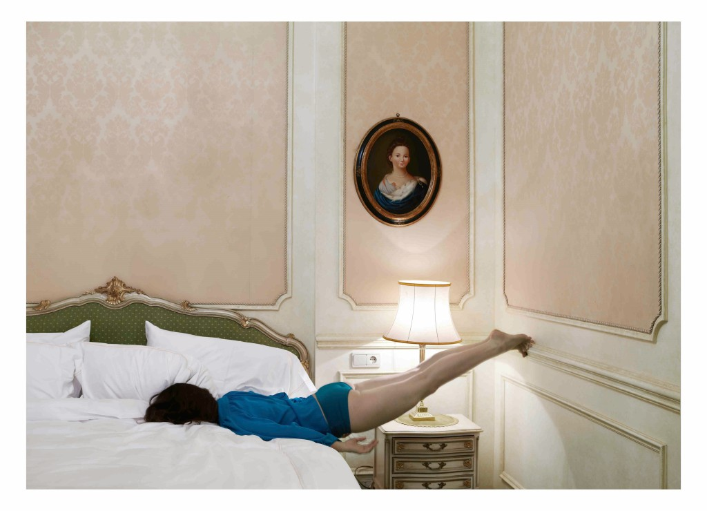 Anja Niemi, Room 81 (bed), from Do Not Disturb series (2011)