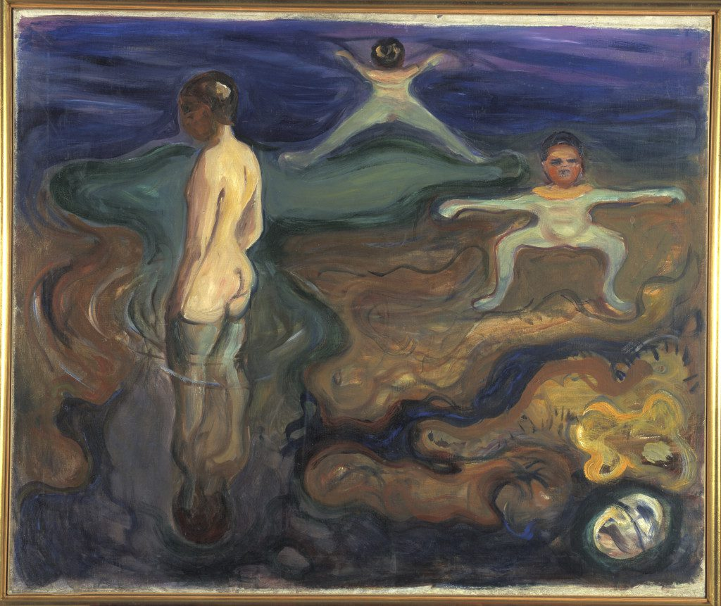 Bathing Boys, 1897-98