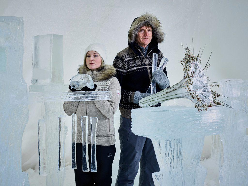 Terje Isungset & Maria Skranes. Photo: Emilie Holba