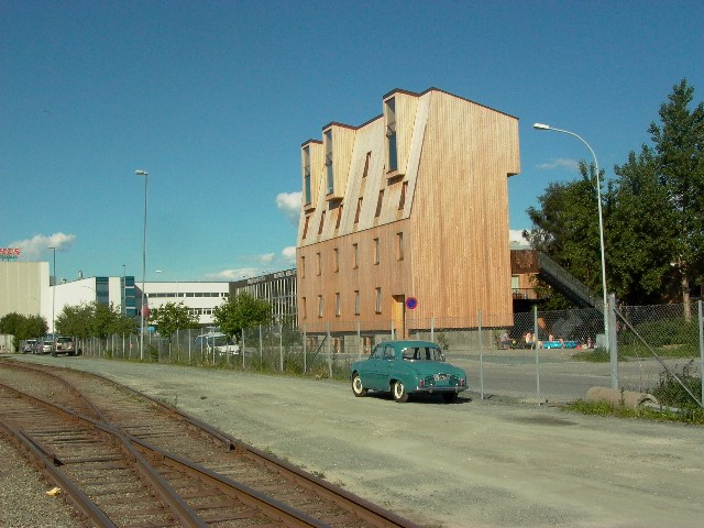 Svartlamoen experimental housing block - Brendeland  Kristofferson Arkitekter. Photo: Jereon Musch