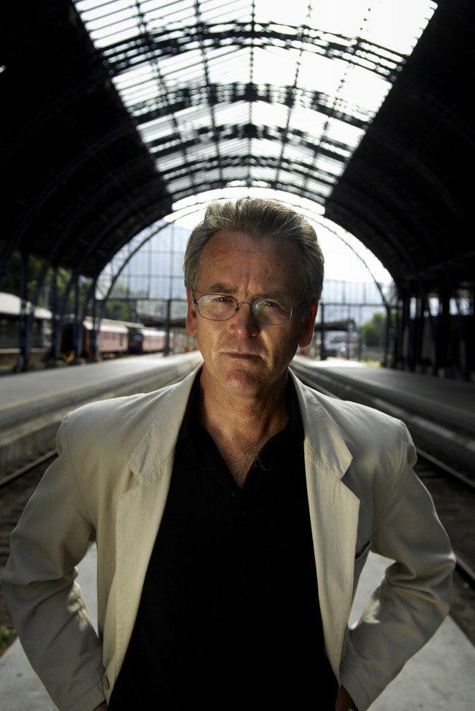 Gunnar Staalesen - Photo: Helge Skodvin  Gyldendal